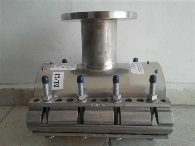 EZ-MAX with flanged outlet